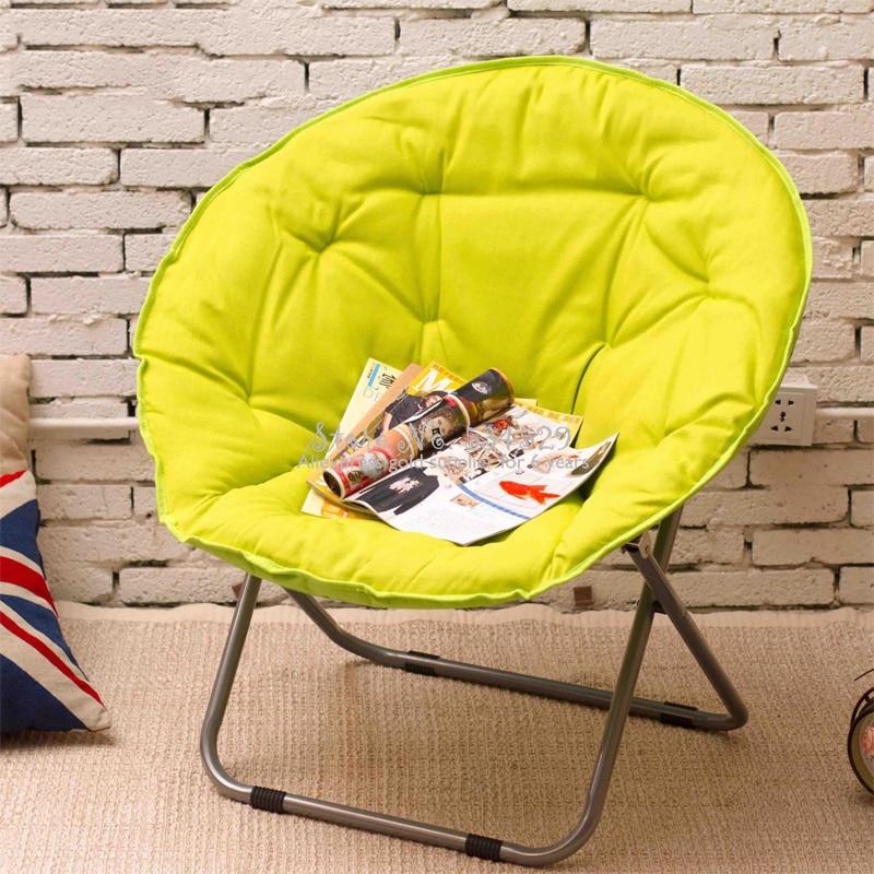 40% Large Adult Moon Chair Sun Lounger Lazy Chair Radar Recliner Folding Chair Sofa Back Chair