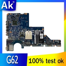 Akemy 595184-001 DA0AX1MB6H1 Laptop Moederbord Voor Hp Pavilion G42 G62 Serie S989 HM55 Moederbord Werkt