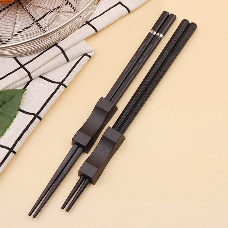 1 пара японские палочки для Суши Палочки Кухня инструменты многоразовые с нескользящей подошвой для пар в китайском стиле длинные палочки д...
