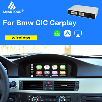 Smartour Wireless CarPlay for BMW CIC System X5 E70 X6 E71 2011-2013 X1 E84 with Android Mirror Link AirPlay Car Play Function image