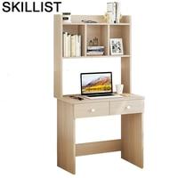 Schreibtisch Standing Dobravel Portatil Lap Bed Tray Office Furniture Computer Desk Laptop Stand Mesa Table With Bookshelf