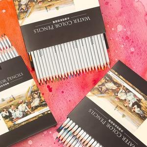 24/36/48 цвета акварельные карандаши для рисования ручки Художественный набор для детей детская живопись Эскиз акварельные карандаши набор карандаши акварельные акварельные карандаши