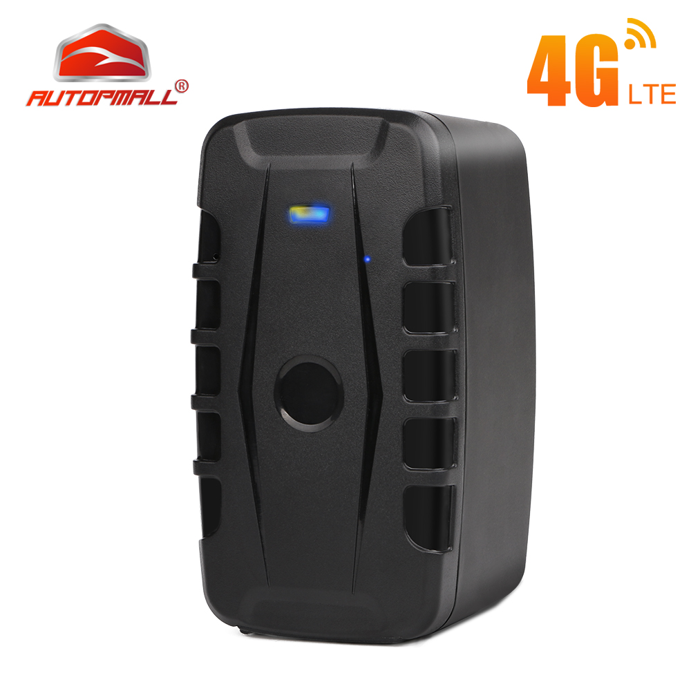 4G GPS Tracker Car 20000mAh 240 Days Standby Vehicle Car Tracker Waterproof <font><b>LK209C</b></font> GPS Locator Tracker Magnets Drop Shock Alarm image