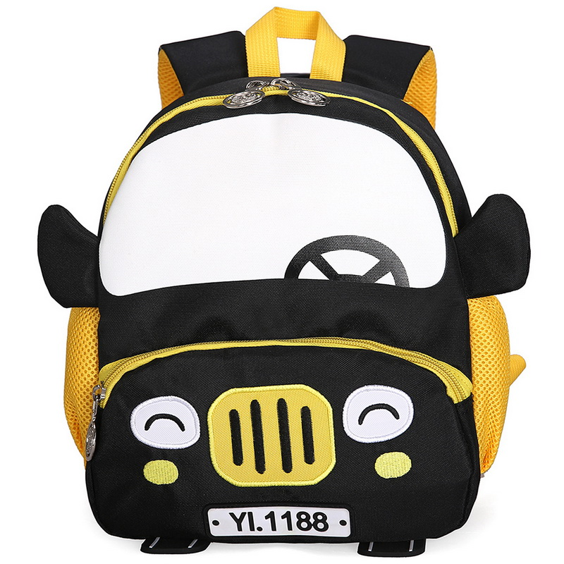 WENYUJH Boy Schoolbag Mochila Car-Backpacks Kindergarten Kids Fashion Cartoon Escolar