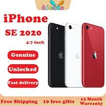 Entsperrt Original Apple iPhone Se(2020) 4,7 inch Touch ID NFC ROM 64GB/128GB/256GB Smartphone A13 Hexa-core Apple zahlen Handy