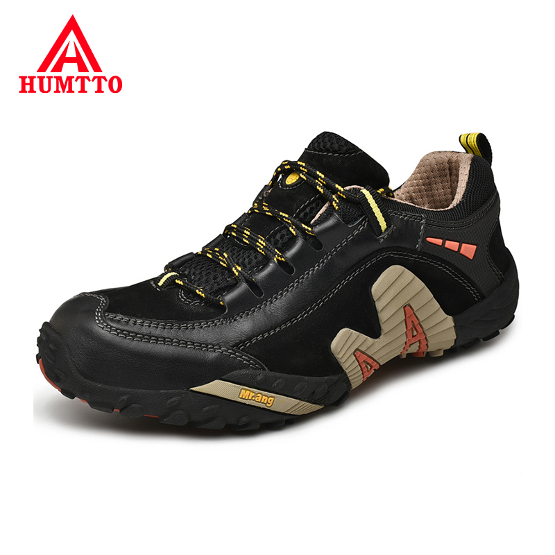 New Genuine Leather Men Casual Shoes Lace-up Ourdoor Work Safety Mens Shoes Light Breathable Walking Man Sneakers Big Size 38-47