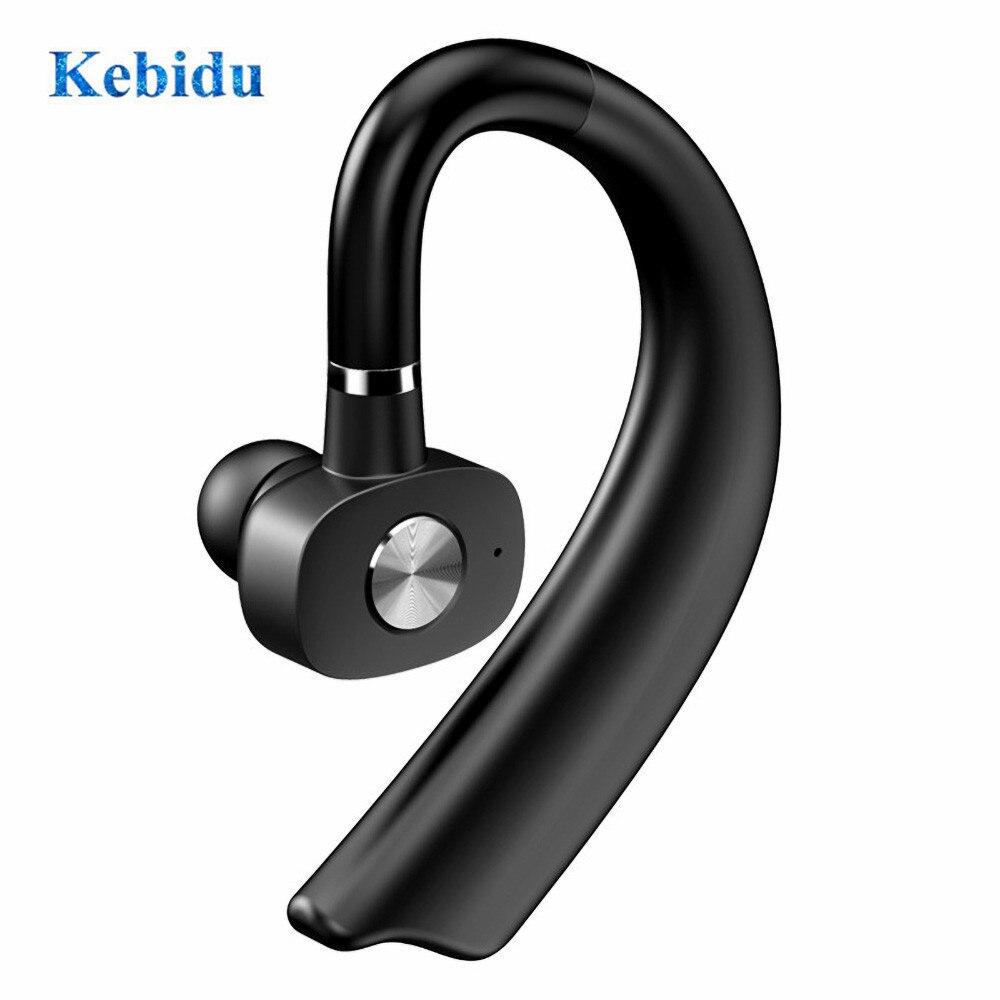 Беспроводные Bluetooth-наушники KEBIDU с шумоподавлением, деловая Беспроводная Bluetooth-гарнитура с микрофоном для водительского спорта
