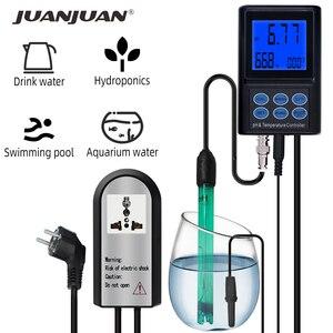 PH-221 digital medidor de ph controlador temperatura 0.00 analyzer 14.00 ph monitor analisador água com luz de fundo para aquário piscina 30% de desconto