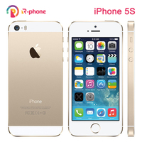 """Original iPhone 5S Used 99% New Mobile Phone 3G 4G Dual Core 4"""" 8MP WIFI 3G iPhone5s Unlocked A1457 Cellphones Used 1"""