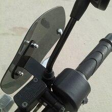 Couvercle de pare brise de moto, couvercle de protection des mains, déflecteur de vent pour Ybr 125 pièces Kawasaki Zx9R carénage Niu Scooter Honda Cbf