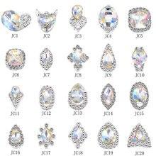 100 шт xxl ab радужные 3d кристаллы бриллианты большие стразы