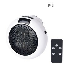900W Electric Heater Mini Fan Heater Desktop Household Wall Handy Heating Stove Radiator Warmer Machine for Winter