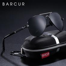 BARCUR Polarized Mens Sunglasses Pilot Sun glasses for