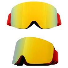 Очки для лыж и сноуборда женщин мужчин очки катания на лыжах