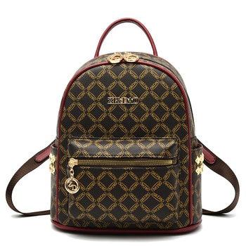 Famous Brand Women Backpack Girls Female School Shoulder Bag Bagpack Girl Travel Backpack Mochila Feminina