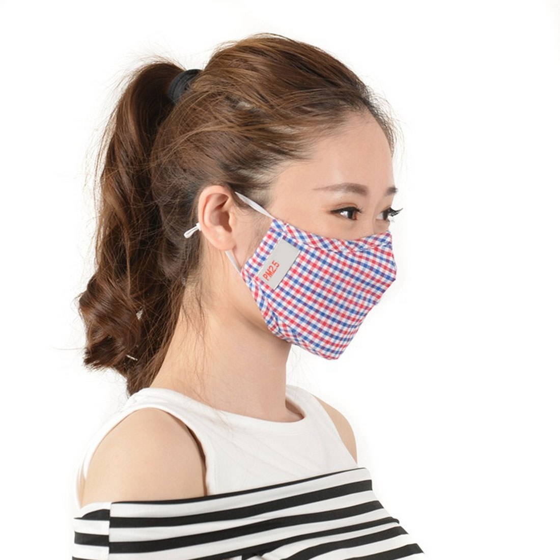 Cotton PM2.5 Anti-smoke Mask Breathing Valve Anti-dust Mask Activated Carbon Filter Mask Black Mask