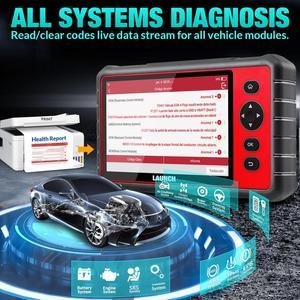 Image 5 - Outil de Diagnostic de système complet de scanner du lancement X431 CRP909E obd2 + Airbag SAS TPMS EPB IMMO 15 fonctions de réinitialisation lecteur de code CRP909X