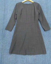 Vestido de lana suave y cómodo para mujer, tela fina mezclada, 2021