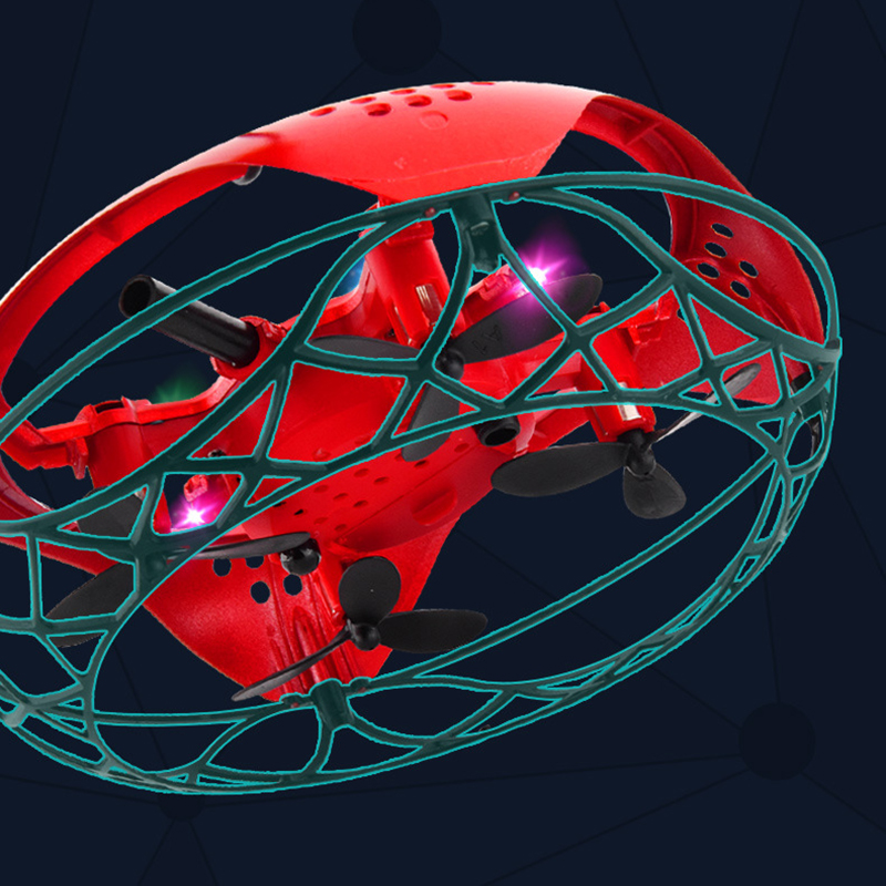 Hand lights Drone Quadcopter