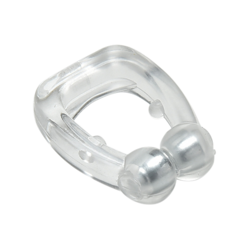 5pcs/lot Hot Selling Anti Snoring Silicone Nose Clip Magnetic Stop Snoring Nose Clips Anti-Snoring Apnea Sleeping Aid Device 4