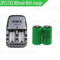 2 stücke 15270 CR2 800mah akku + 3V CR2 ladegerät, digital kamera, einen besonderen batterie