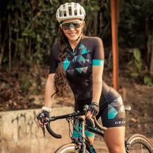 GRSRXX Triathlon kombinezony damskie zestaw rowerowy MTB Team kombinezon zestawy lato kobiet kombinezon jazda na rowerze komplet jersey rowerów garnitur tanie tanio CN (pochodzenie) WOMEN 100 poliester 80 Polyester and 20 Lycra Z krótkim rękawem Bezpośrednia sprzedaż z fabryki