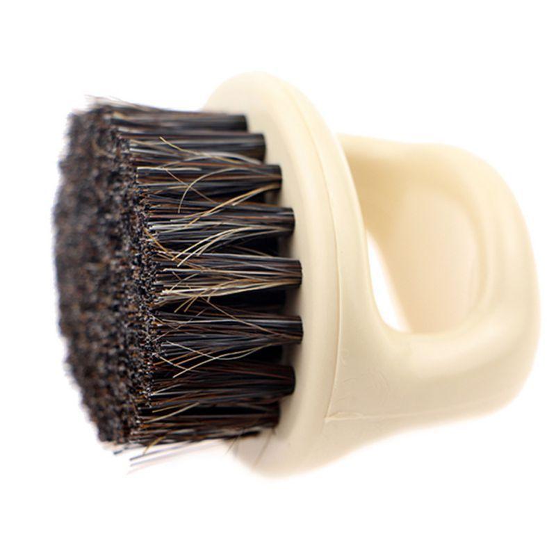 Beard Brush Boar Bristles Comb Handmade Grooming Tool For Men Beards Massage Beard Brush Mustache Care