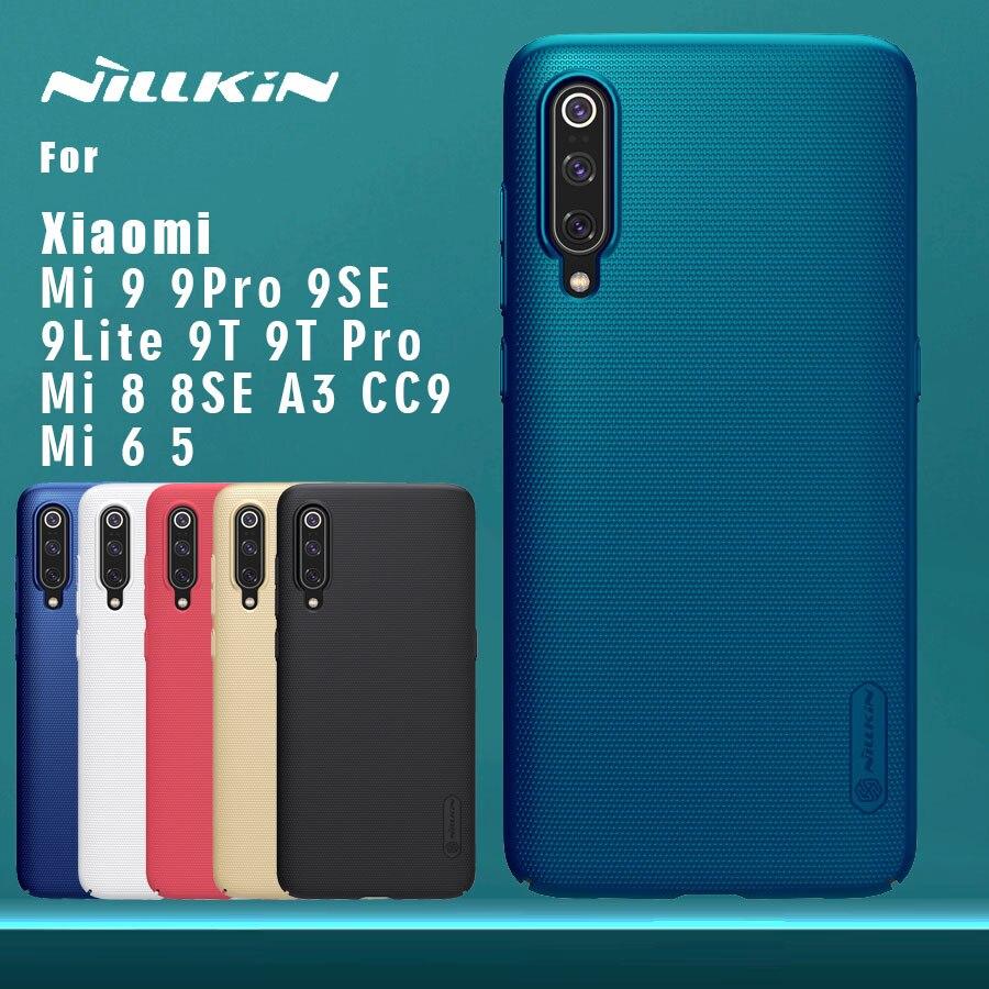 Nillkin für Xiao mi mi 9 Pro 9T Pro mi 8 SE A3 CC9 Fall Matt Schild Stark abdeckung für Xiao mi mi 9 SE Lite 9T Pro mi 8 mi 5 mi 6