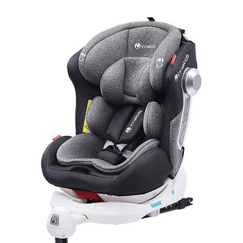 Hot Brand Child and Baby car seat 0-12 years portable 360 degree rotating seat ISOFIX interface gift for children newborn baby safe car seats car general 0 12 years old child baby isofix hard interface can lie car seat