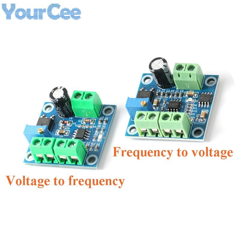 Преобразователь частоты в напряжение, модуль платы преобразователя от 0-10 кГц до 0-10 В от 0-10 В до 0-10 кГц