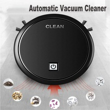 Automatic Vacuum Cleaner Floor Sweeper 360° Smart Sensor Protection Strong Suction Power Intelligent Household Cleanero