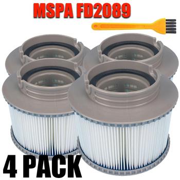 MSPA FD2089 okrągłe narzędzie basen uniwersalny filtr siatkowy do kamaro błękitne morze elegancja jacuzzi Spa wkłady tanie i dobre opinie CN (pochodzenie) 11*11*9cm 4 33*4 33*3 54 170g gray Available Acceptable