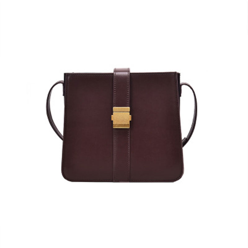 Women\'s Fashion PU Designer Handbag Mini Flap OL Crossbody Bag Shoulder Bag for Office Daily