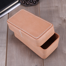 JOGUJOS Genuine Leather Cosmetic Case Women Travel Make Up Bag Necessaries Organizer Makeup Pouch Toiletry Kit