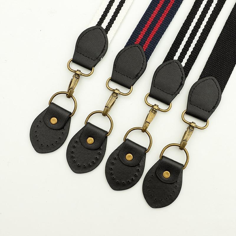 Replacement Bag Strap DIY Women Girls PU Leather Bag Handle Strap Belt Shoulder Bag Parts Accessories Buckle Belts Nylon Handbag