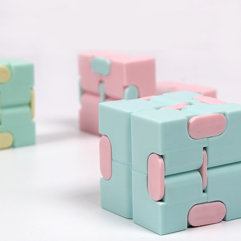 Mini Infinity Cube Toys For Relieving Stress Anxiety Suitable For Children Adult Fun Magic Cube Decompression Toys
