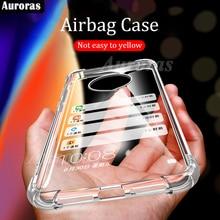 Auroras Dành Cho Nokia X20 Ốp Lưng Chính Thức Ban Đầu Trong Suốt Chống Sốc Trong Suốt Dành Cho NOKIA X10 Túi Khí Ốp Lưng