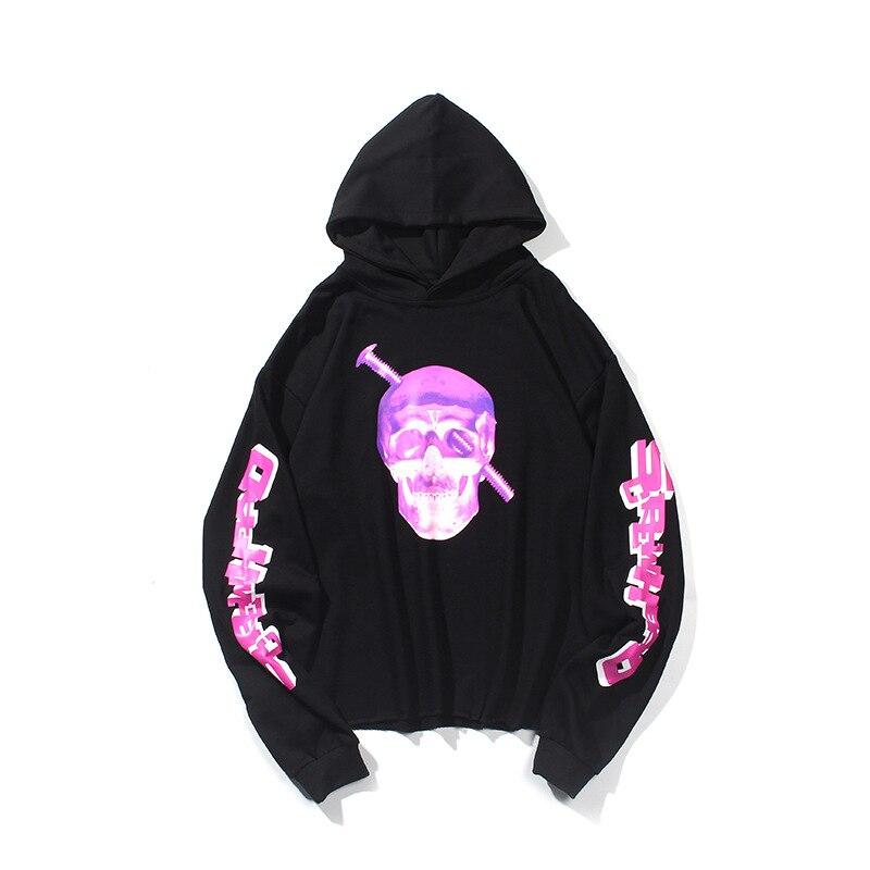 VLONE Purple Skull Hoodie 2