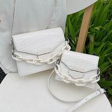 Stone Pattern Mini PU Leather Crossbody Bags For Women 2020 Solid Color Shoulder Handbags Female Travel Cross Body Flap Bag цена 2017