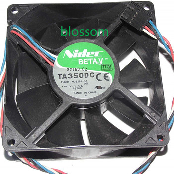 Generic 92mm M35291-35 DEL 12V 2.3A 4Wire For Dell Optiplex GX280 P2780 Case Fan, Nidec Beta V TA350DC Cooler fan