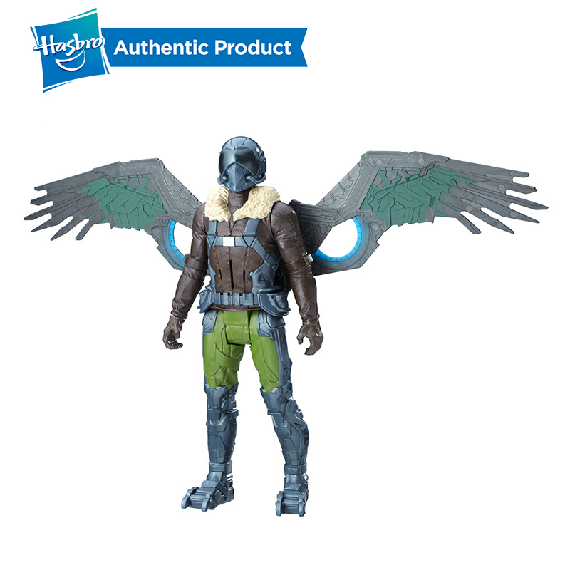 Hasbro Marvel SpiderMan Homecoming Electronic Marvel's Vulture PVC Action Figure Collectible Model Boys Toy With Sound Effects