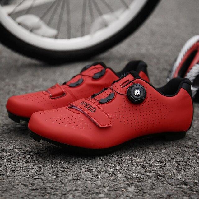 Sapatilhas de ciclismo mtb, sapatilhas para uso em bicicleta de montanha, autotravamento, original superstar, para homens e mulheres 5