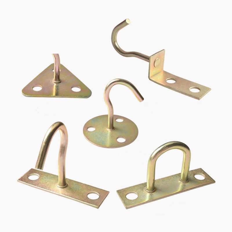 Multi Purpose Heavy Duty Ceiling Hooks Hanger For Yoga Hammock Swing Sandbags Ceiling Fan Hook Home Organizer Hooks Rails Aliexpress