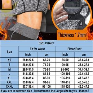 Image 5 - LAZAWG Vrouwen Sauna Zweet Neopreen Top Taille Trainer Body Shaper Hot Thermo Vest Afslanken Shapewear Shirt Zweet Sport Shirt