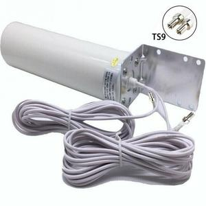 2020 4G LTE Антенна 3G 4G внешняя антенна наружная антенна с 5 м двойной слайдер CRC9/TS9/SMA разъемы для 3G 4G роутера модема