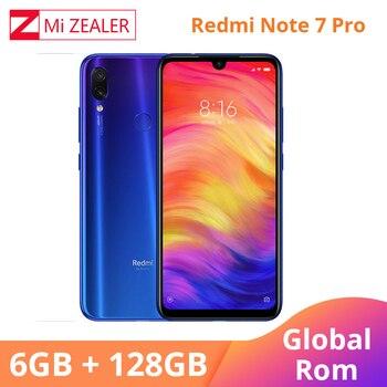 Original Xiaomi Mobilephone Redmi Note 7 Pro 6GB 128GB 6.3'' 4000 mAh 13MP 48MP AI Smart Camera
