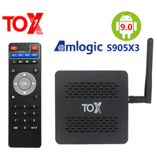 Set-Top-Box Wifi Bluetooth S905X3 Smart Android Tox1 Amlogic 1000M 4K LAN HD 4GB-RAM
