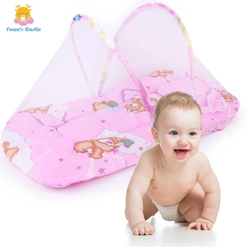 Tent Travel Children Baby Bed Mosquito Net Newborn Sleep Bed Baby Crib Netting