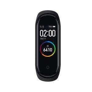 Image 2 - Küresel sürüm orijinal XiaoMi Mi Band 4 akıllı bileklik spor bilezik kalp hızı zaman büyük dokunmatik ekran mesaj Smartband