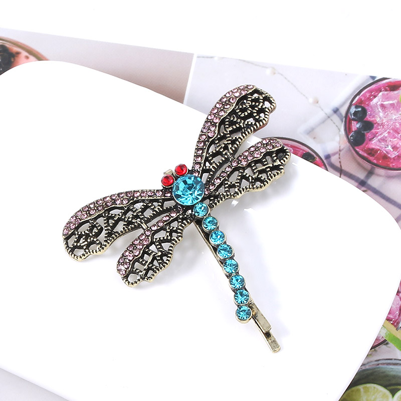 Coraline Dragonfly Hair Clip Hairpin Bobbypin Pins Brooches Filigree Lace Pattern Metal Hairpins For Women Christmas Jewelry Aliexpress